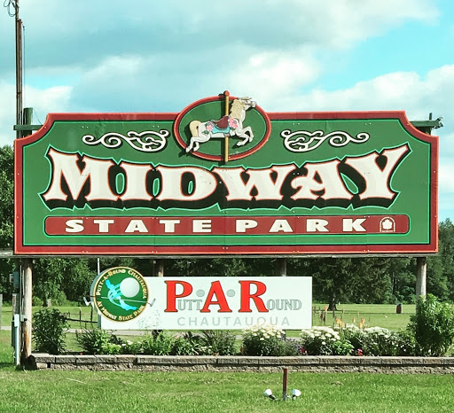 Midway State Park sign